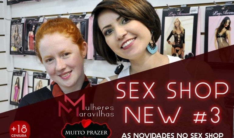 As 3 novidades do Sex Shop