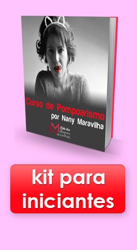 Kit de Pompoarismo Nany Maravilha para Iniciantes